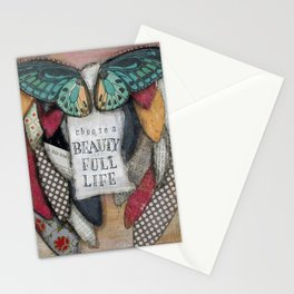 Choose a Beauty Full Life Stationery Cards