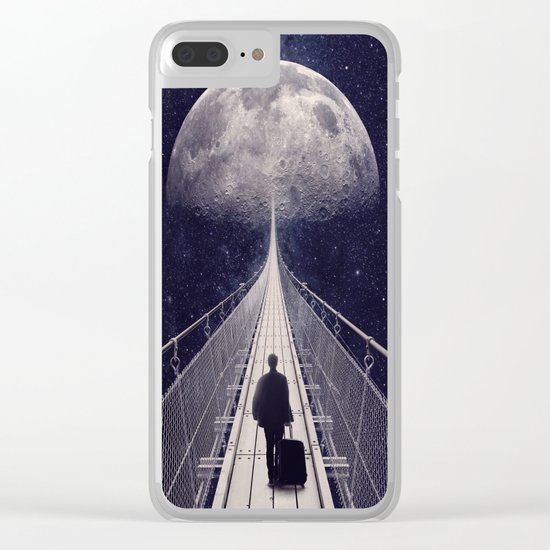 Space Trip || Clear iPhone Case