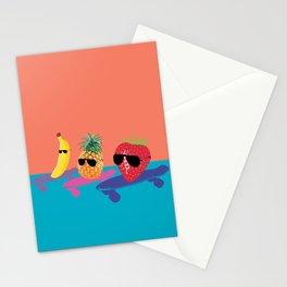 Skating Fruit Salad Stationery Cards