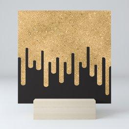 Dripping Sandal Glitter Mini Art Print