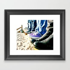 Kickin' It Framed Art Print