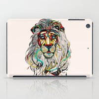 the lion king iPad Cases featuring Lion by Felicia Atanasiu