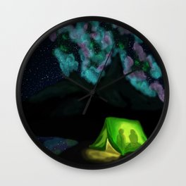 Under the Stars Wall Clock