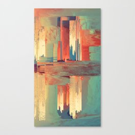 Pixel Sorting 69 Canvas Print