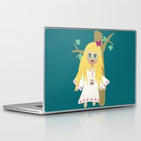 hippie Laptop & iPad Skins featuring Hippie by lescapricesdefilles