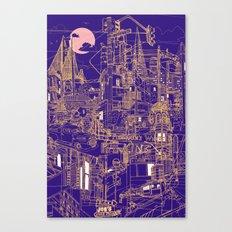 San Francisco! (Night) Canvas Print