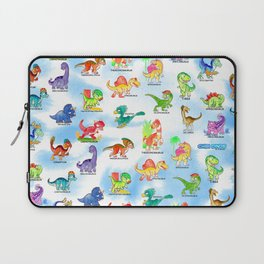 Chibidinos Watercolors Summer 2018 Laptop Sleeve