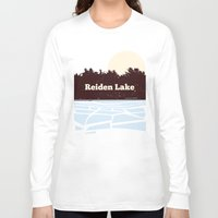 fringe Long Sleeve T-shirts featuring Reiden Lake (Fringe) by avoid peril