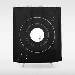 Circle of Prints Shower Curtain