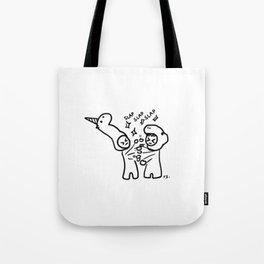 slapfight Tote Bag