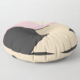Happy Place - Black Pink Floor Pillow