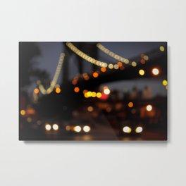 Brooklyn Bridge, NY Metal Print