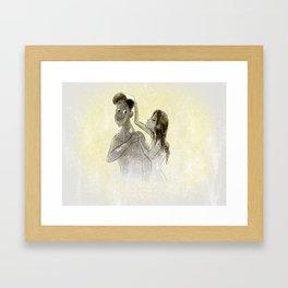 Saving Water Framed Art Print