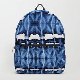 Tie-Dye Shibori Satinete Backpack