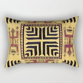 Southwest Shaman Tile Rectangular Pillow