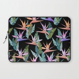 Birdie Tropical Black Laptop Sleeve