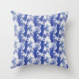 Jungle pattern Throw Pillow