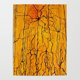Neural Activity (An Ode to Cajal) Poster