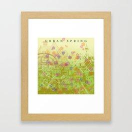 Urban Spring Framed Art Print