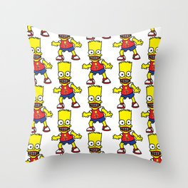 Bart Simpson Throw Pillow
