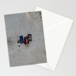 Aerial Beach Towels Stationery Cards