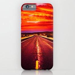 Desert Sunrise, Big Bend, Texas iPhone Case