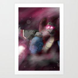 Screamer of Stars Art Print