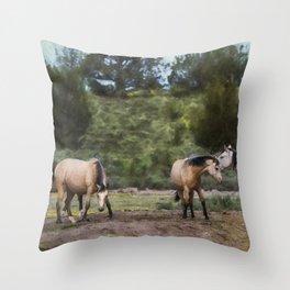 The Duns Throw Pillow