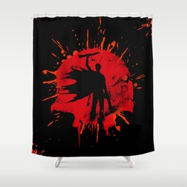 King From The Book Shower Curtain