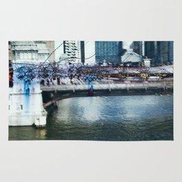 Light Bridge - Light Painting Rug