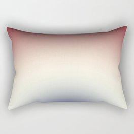 Radical Red White Blue Rectangular Pillow