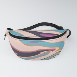 Marblized 7 Fanny Pack