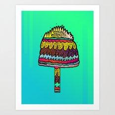 Mushsplosivo Art Print