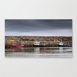 Awaiting the Swells Canvas Print