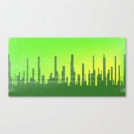 Jaded City Canvas Print