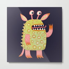 Monster Rufus Metal Print