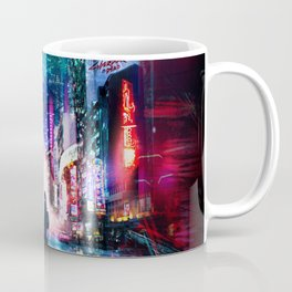 Tokyo Cyberpunk Japan Coffee Mug
