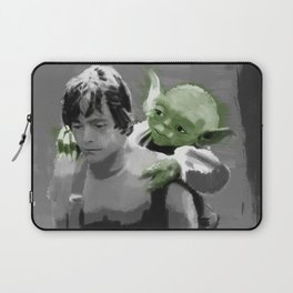 Luke Skywalker & Yoda Laptop Sleeve