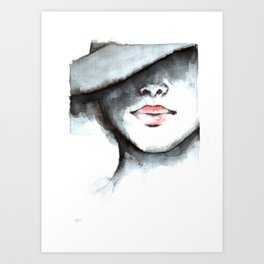 Scent of a Woman Art Print