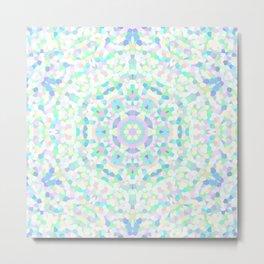 Confetti Kaleidoscope 1 Metal Print