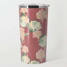 Painted Roses by Katrina Ward Travel Mug