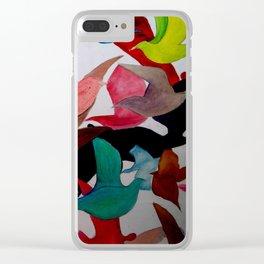 Pájaros Clear iPhone Case