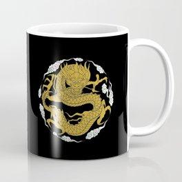 Traditional Gold Dragon Coffee Mug