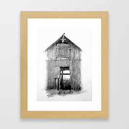 """Hideout"" Framed Art Print"