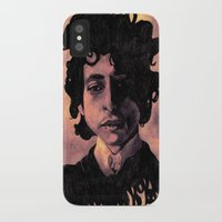 60s iPhone & iPod Cases featuring Bob Dylan (60s style) by Catheriney