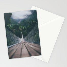 Crossing bridges. Stationery Cards
