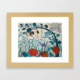nature【Japanese painting】 Framed Art Print