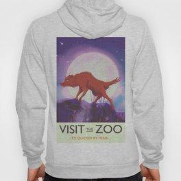 Visit the Zoo wild Wolf Hoody
