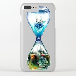 Ecopsychology Clear iPhone Case