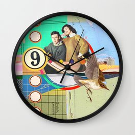 no questions asked Wall Clock